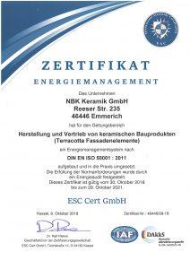 NBK Zertifikat